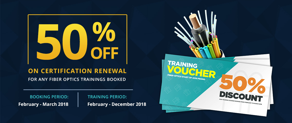 Subnet Services Fiber Optics Training Certification Renewal Promo