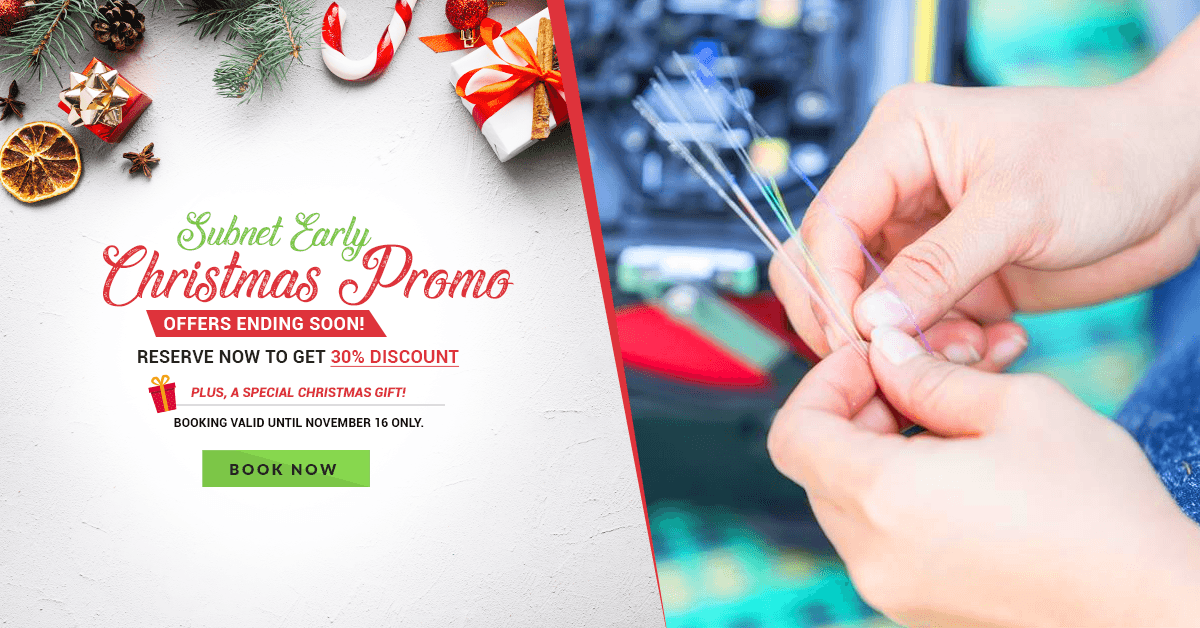 Avail Early Christmas Promo Before It's Too Late!