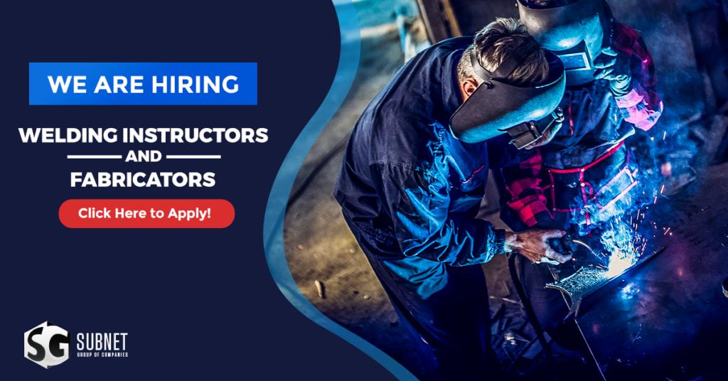 welding instructor and fabricator